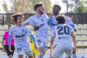 La mala fortuna condena al VCF Mestalla frente al Villarreal B