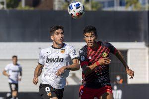 El VCF Mestalla busca la primera victoria en Orihuela